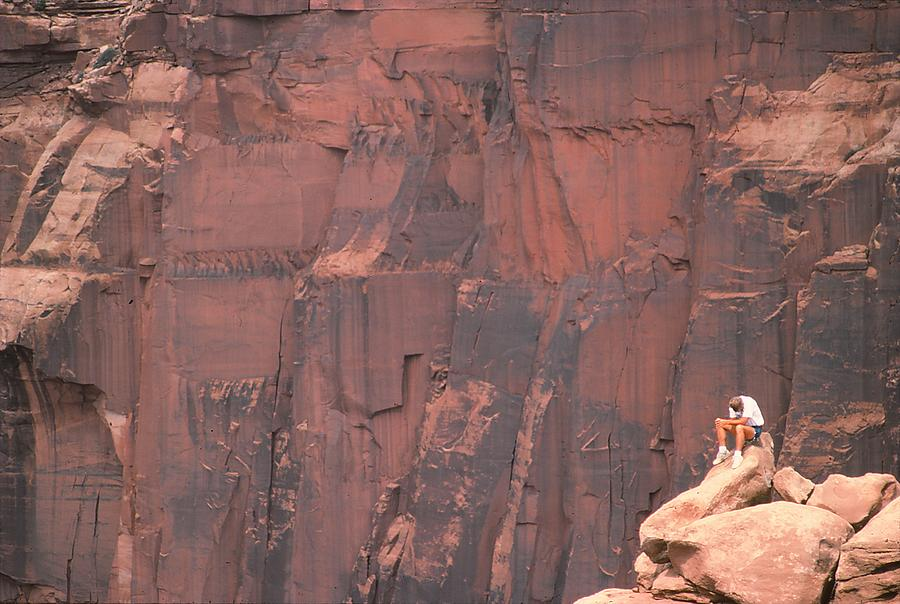Moab Photograph - Well Deserved Rest by Marty Klar