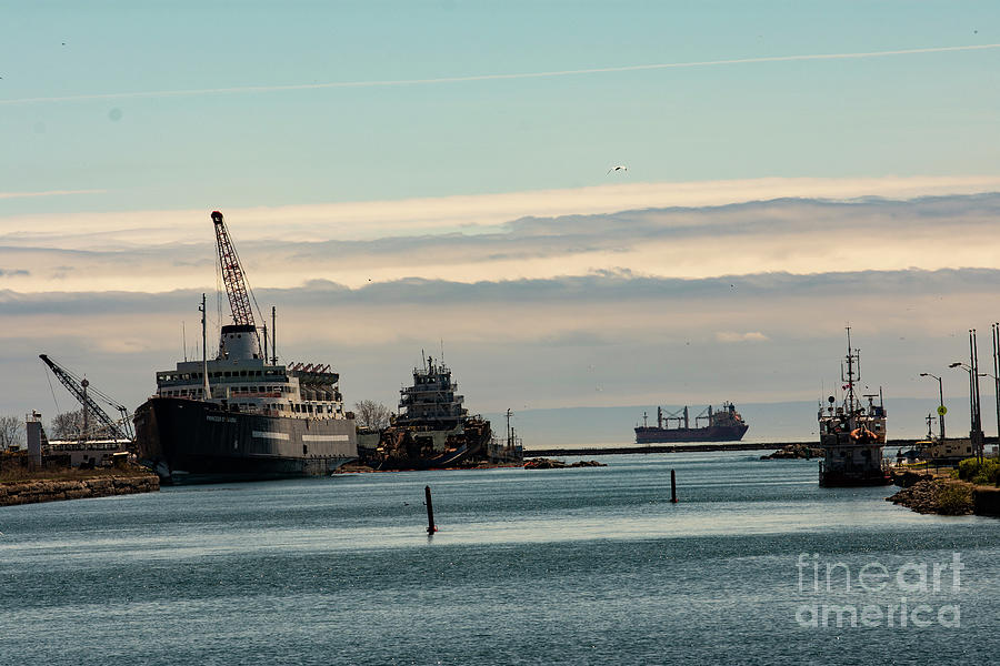 Welland Canal Ships by JT Lewis