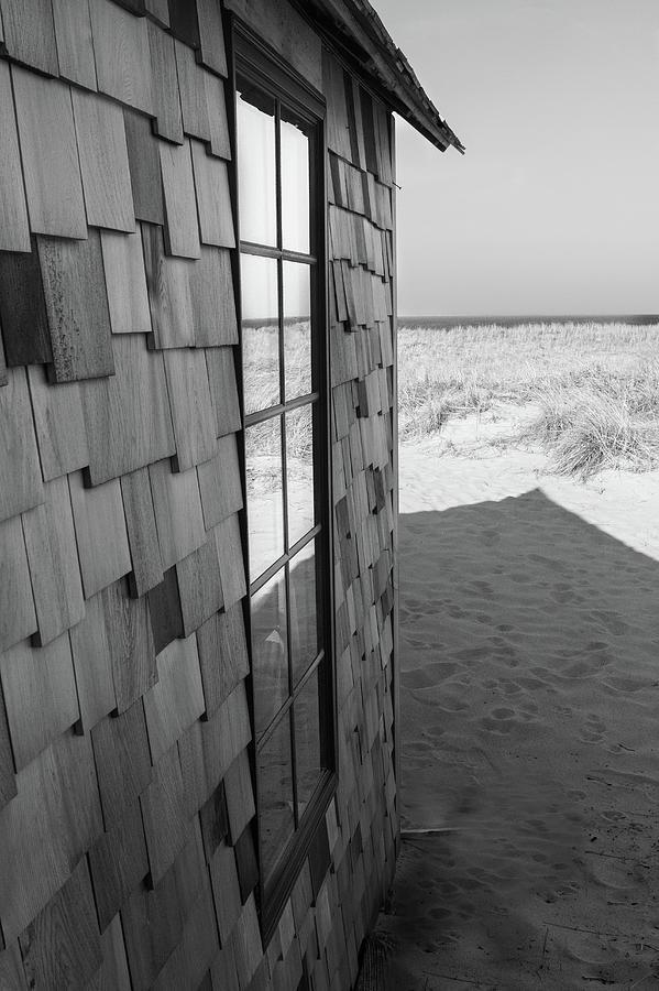 Wellfleet Beach Shack  by Steven David Roberts
