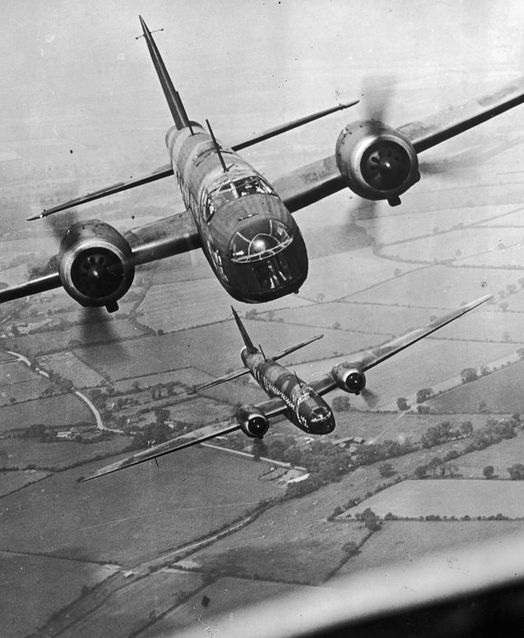 Wellington Bombers Photograph by Topical Press Agency
