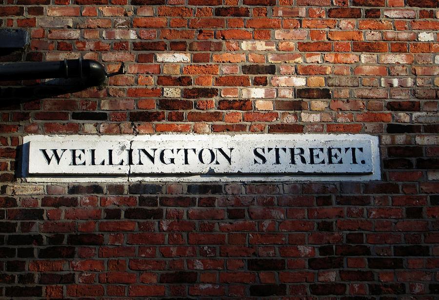 Wellington Street by Lachlan Main