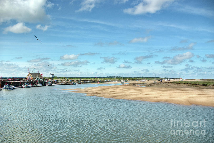 Wells-next-the-sea Photograph - Wells Harbour by John Edwards