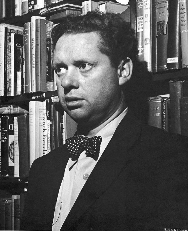 Welsh Poet Dylan Thomas Photograph by Gabriel Hackett