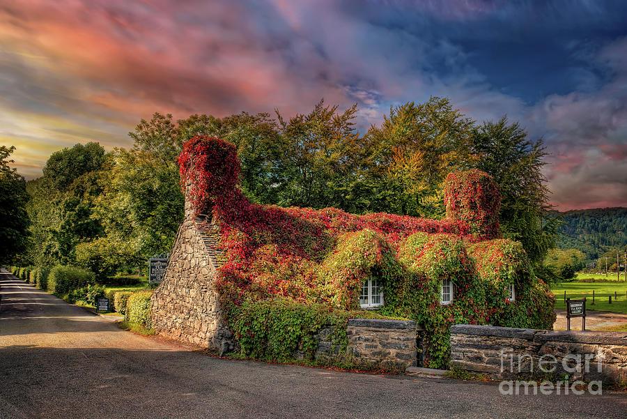 Welsh Tea Room LLanrwst by Adrian Evans