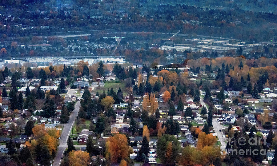 Prints Photograph - Wenatchee In November by Mae Wertz