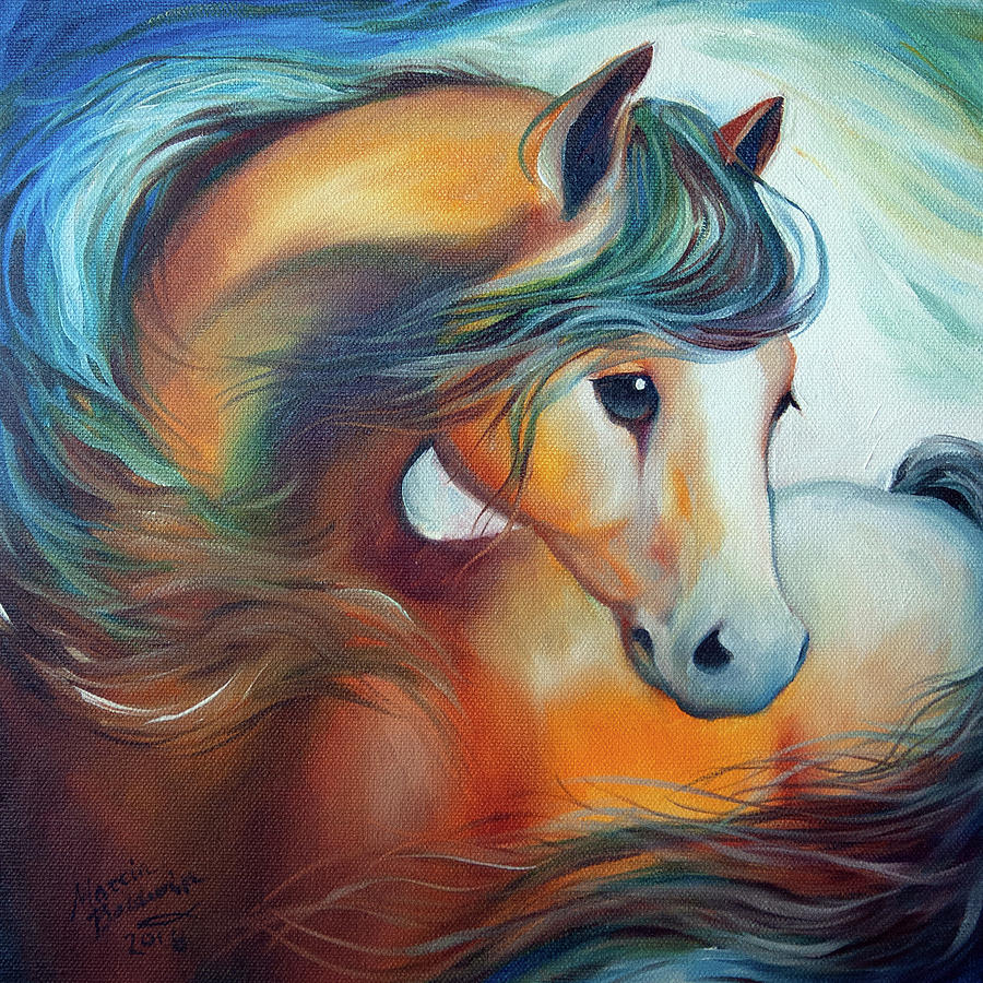 WENDY my HORSE by Marcia Baldwin