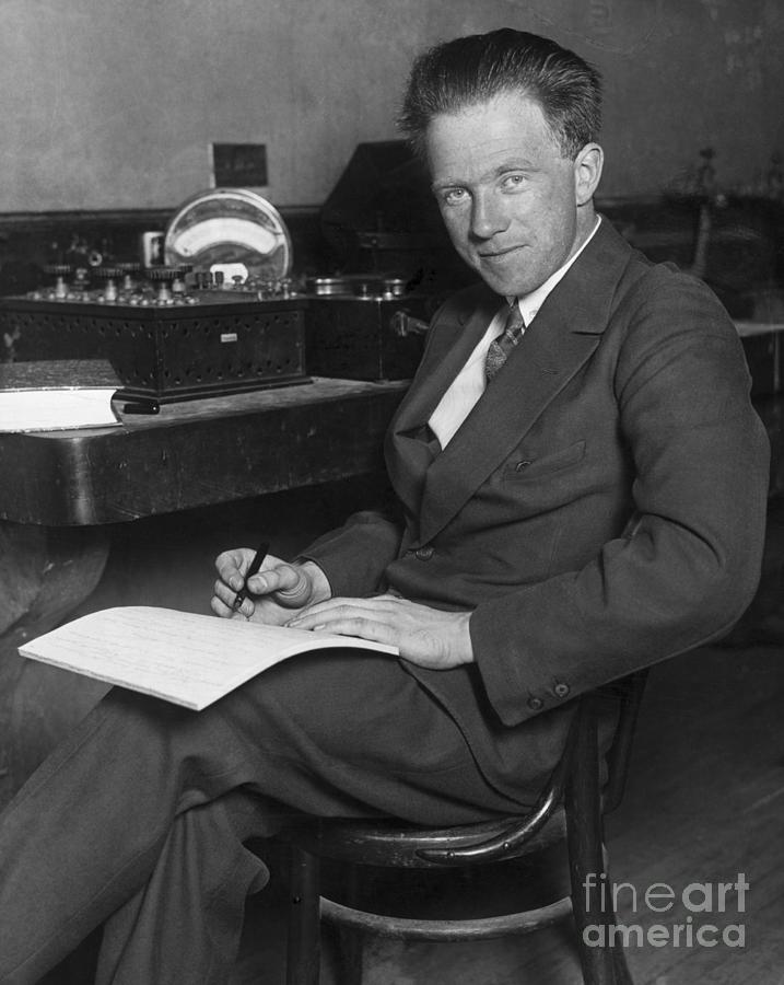 Werner Karl Heisenberg Photograph by Bettmann