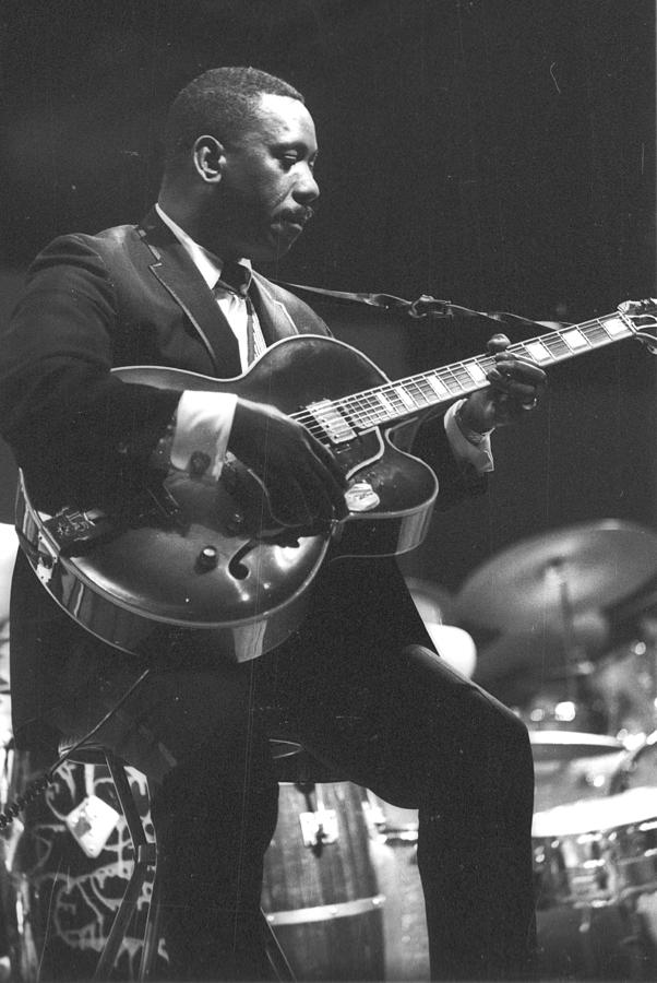 Wes Montgomery Performing Photograph by Tom Copi