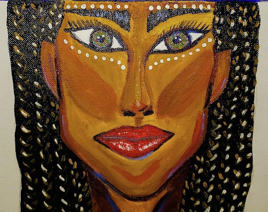West African Woman Yoruba Digital Art