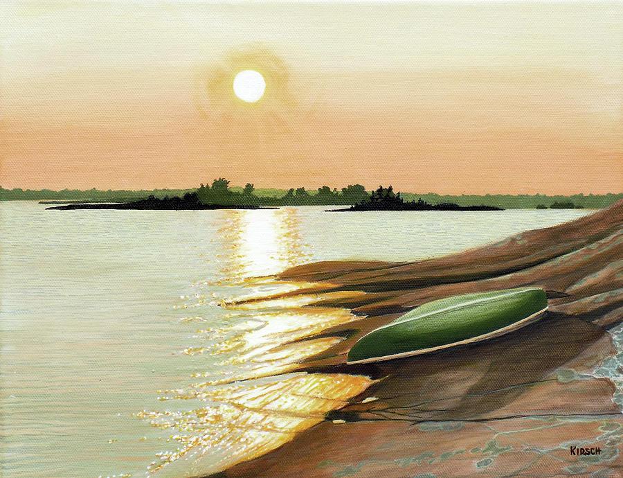 West Dejardin Bay by Kenneth M Kirsch