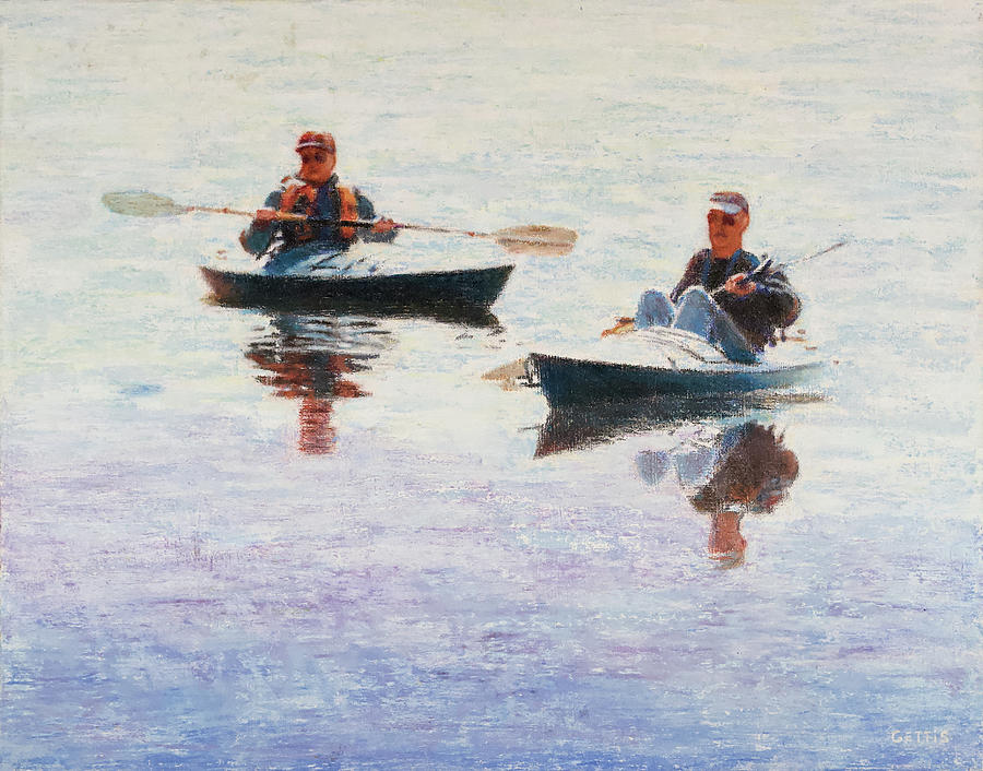 West Hill Kayakers by Jeff Gettis