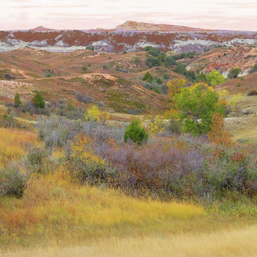 North Dakota Photograph - West River Autumn Reverie by Cris Fulton