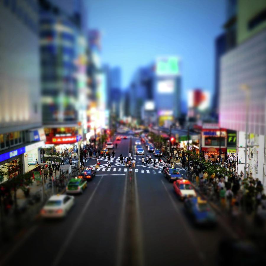 West Side Of Shinjuku Station Photograph by Takahiro Yamamoto