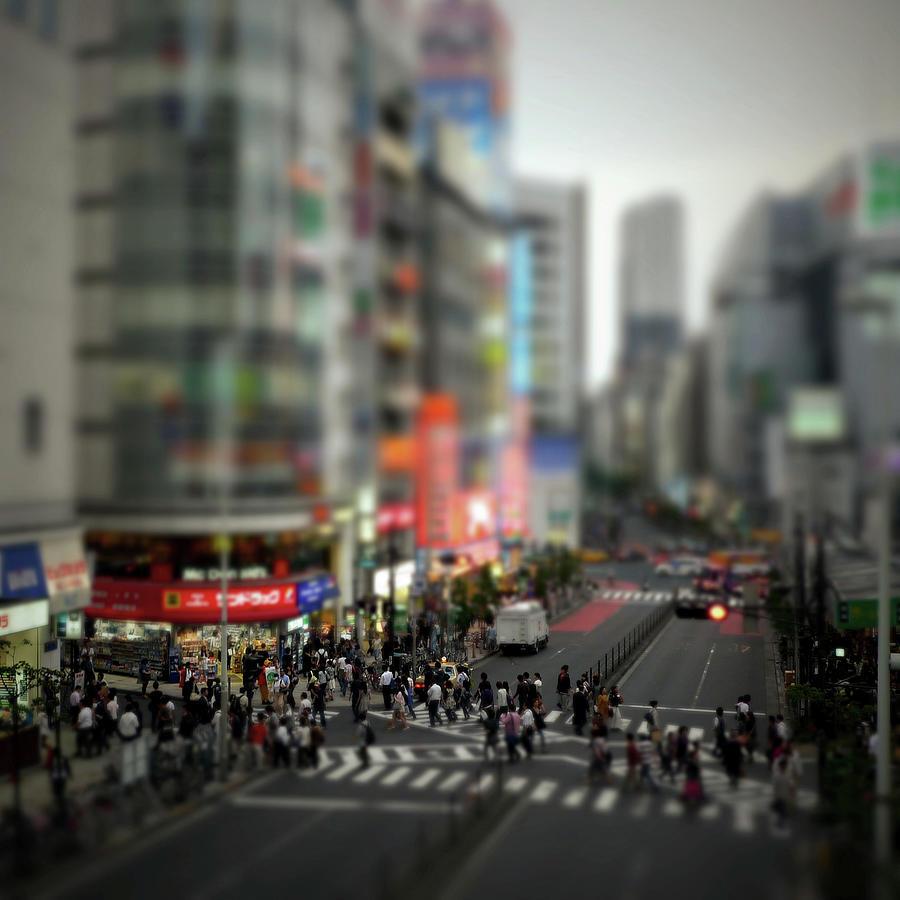 West Side Of Shinjuku Station, Tokyo Photograph by Takahiro Yamamoto