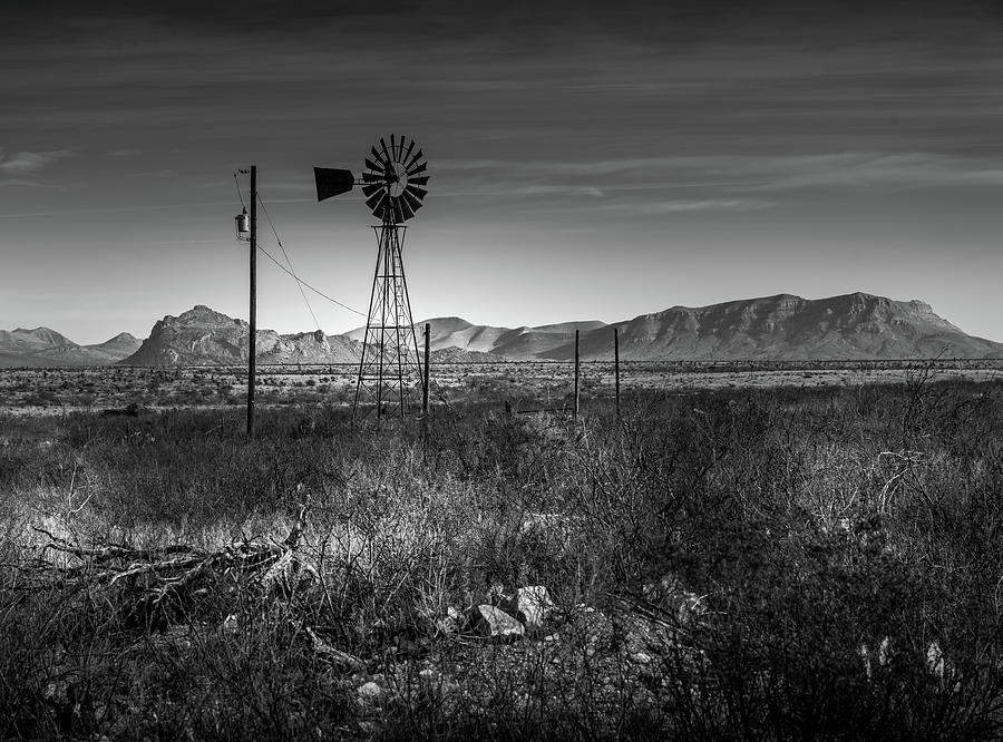 West Texas Windmill by Dean Ginther
