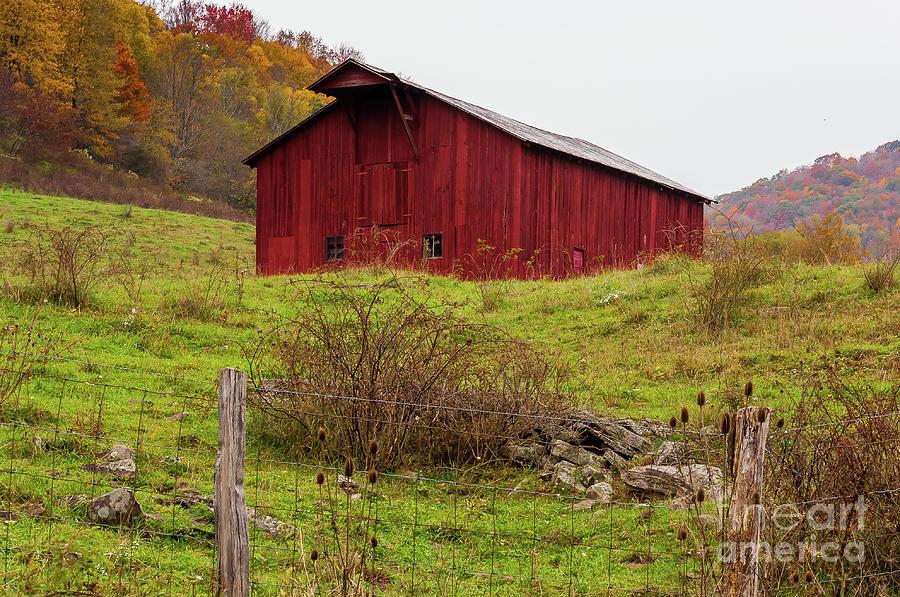 West Virginia Barn by Kathleen K Parker
