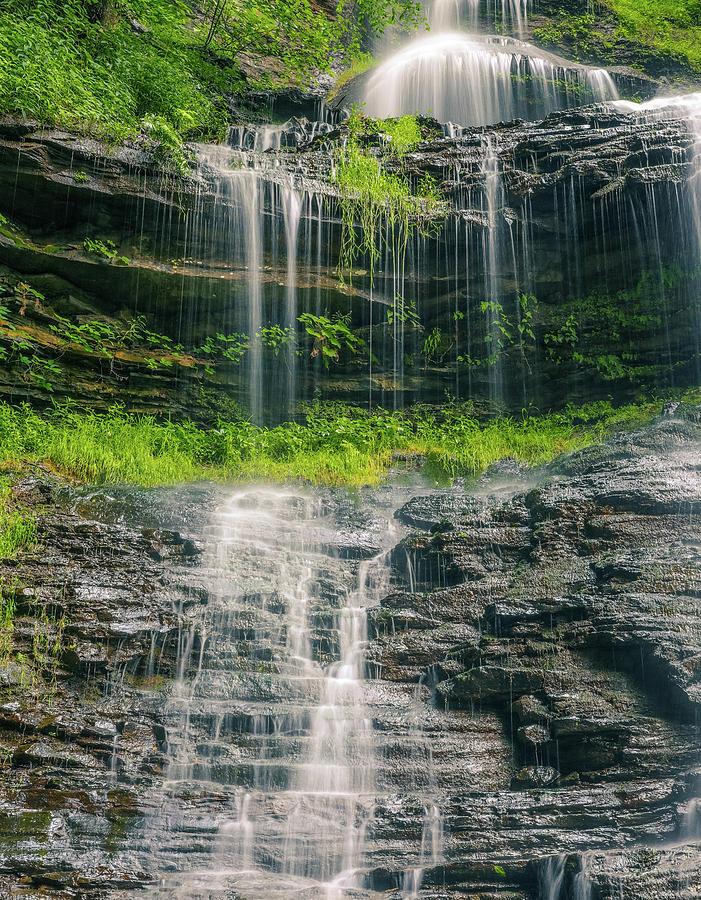 West Virginia Summer Waterfall by Dan Sproul