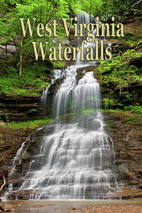West Virginia Waterfalls Poster by Rick Hartigan
