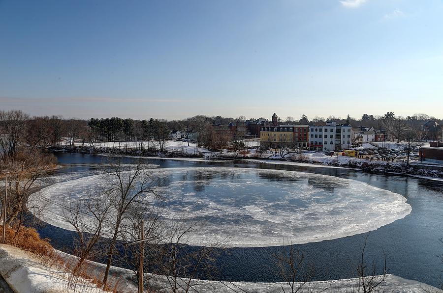 Westbrook Ice Disk by John Meader