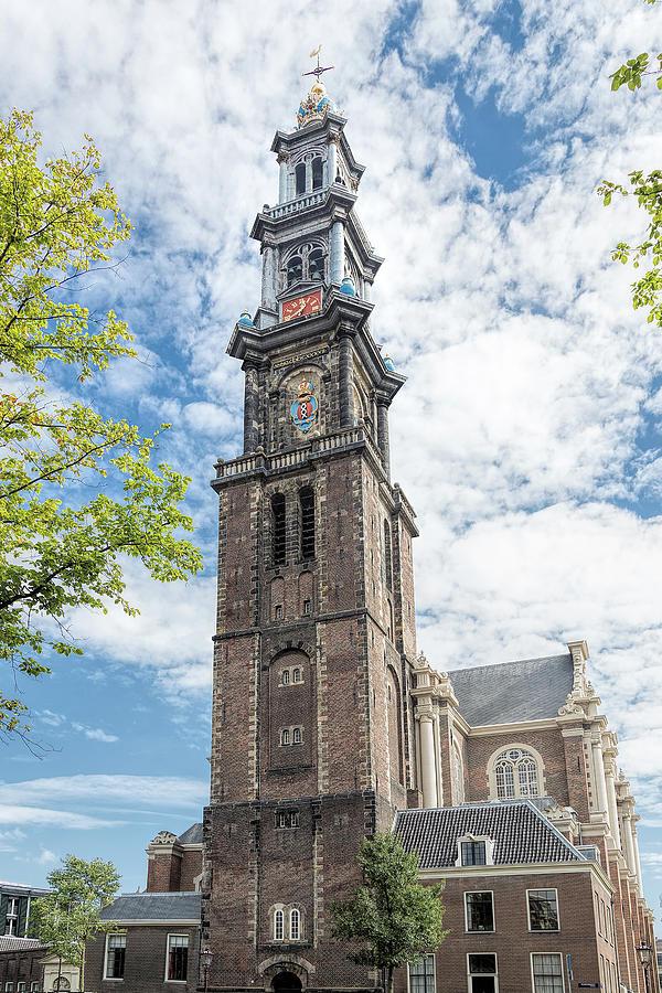Westerkerk Amsterdam by Jemmy Archer
