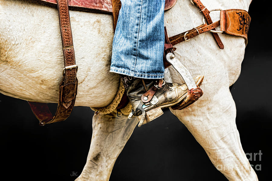 Western boot by Jean Kirby