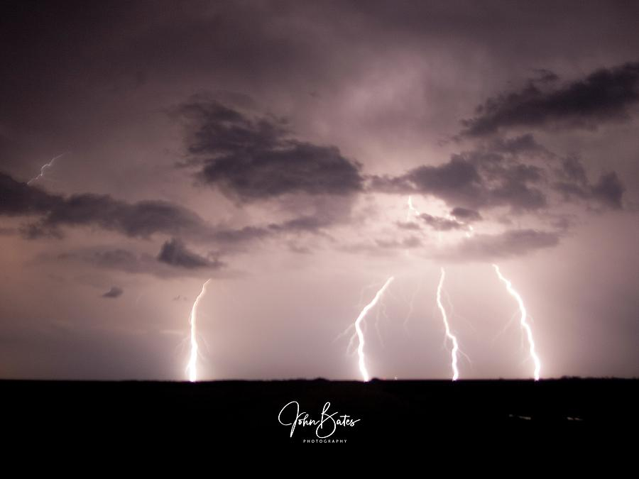 Thunderstorm Photograph - Western Electric by John Bates