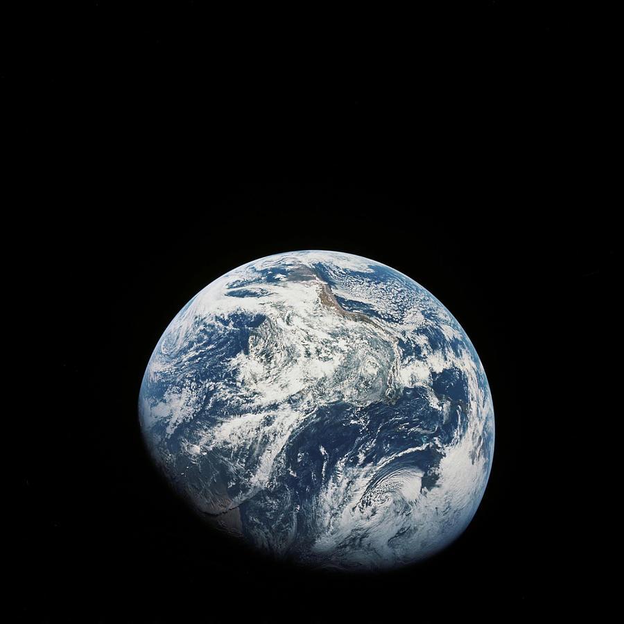 Western Hemisphere Painting - Western Hemisphere by Cosmic Photo