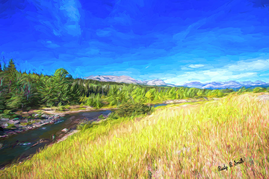 Western Montana landscape. by Rusty R Smith