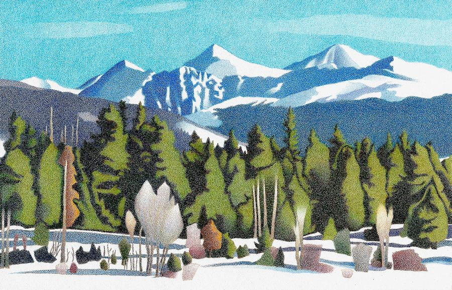 Western Slope Winter by Dan Miller