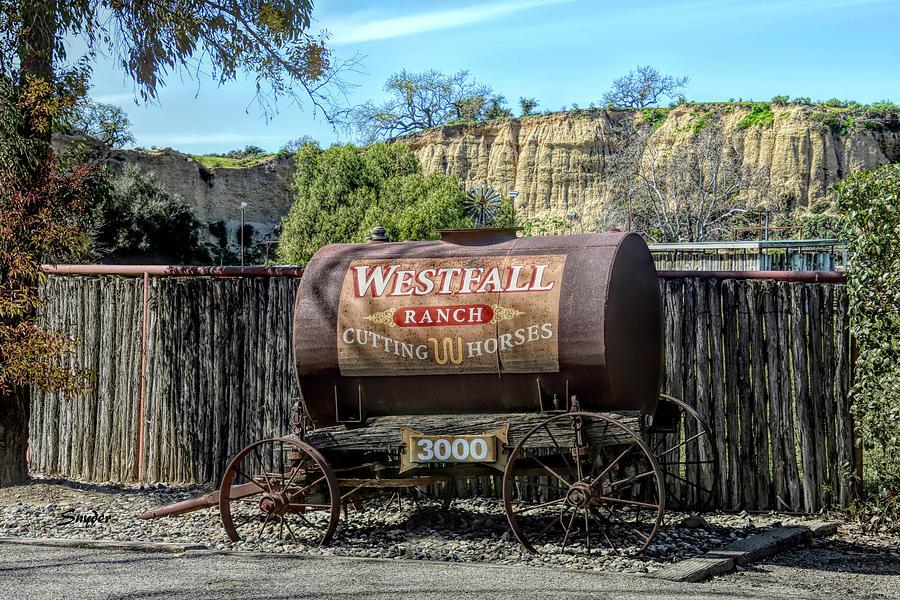 Westfall Ranch Cutting Horses by Floyd Snyder