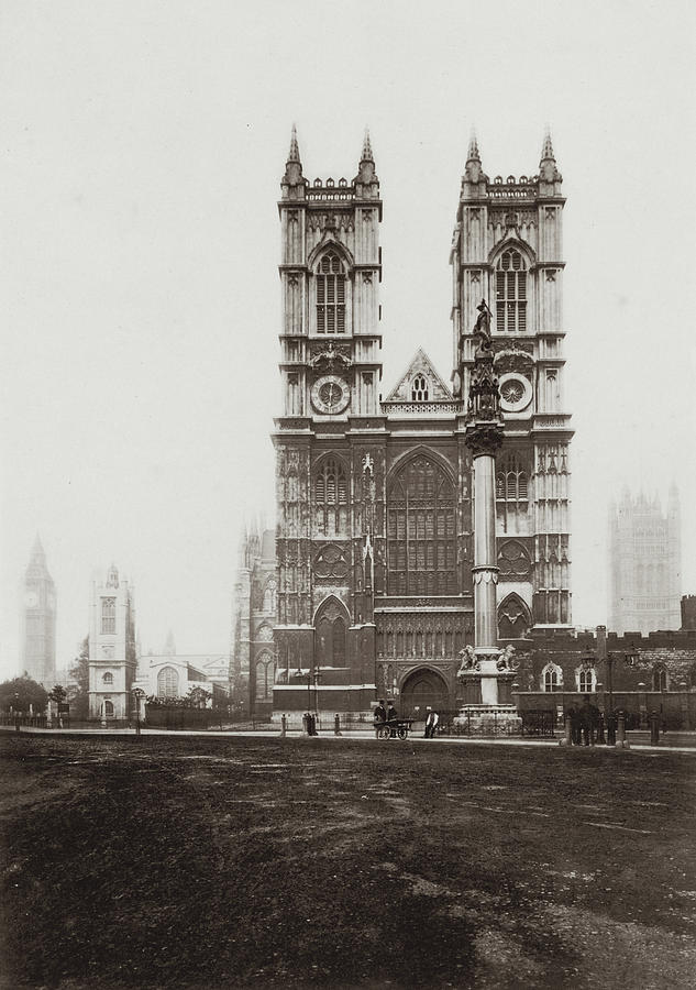 Westminster Abbey Photograph by Otto Herschan Collection
