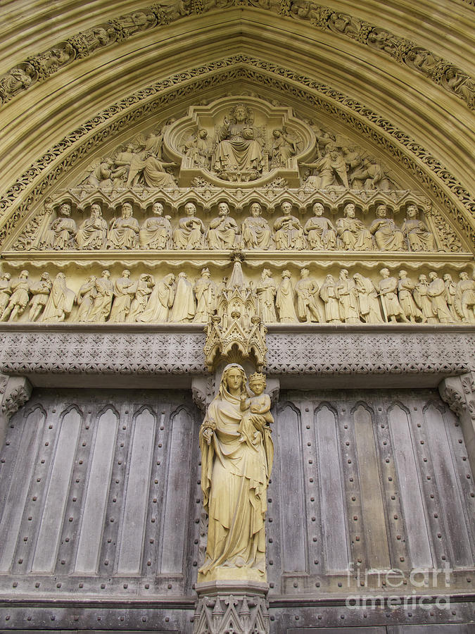 Westminster Abbey Sculpture Photograph