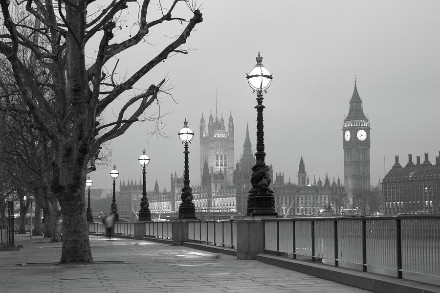 Westminster At Dawn, London Photograph by Gp232