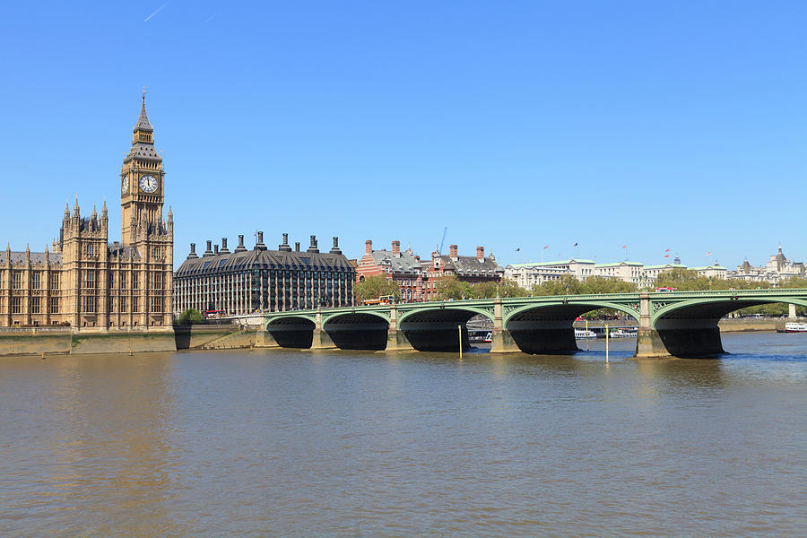 Westminster Bridge, London Photograph by Fraser Hall