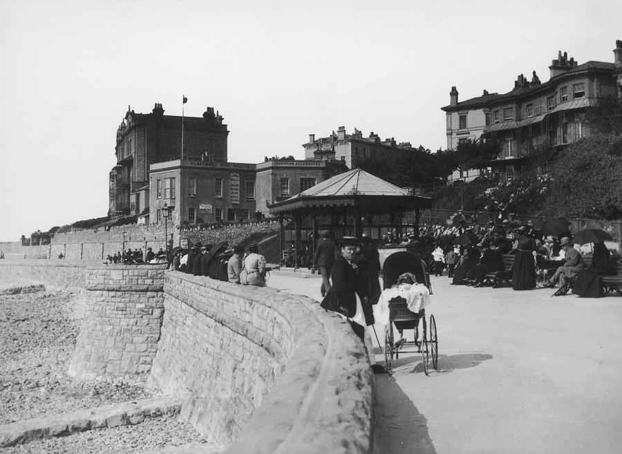 Weston-super-mare Photograph by London Stereoscopic Company