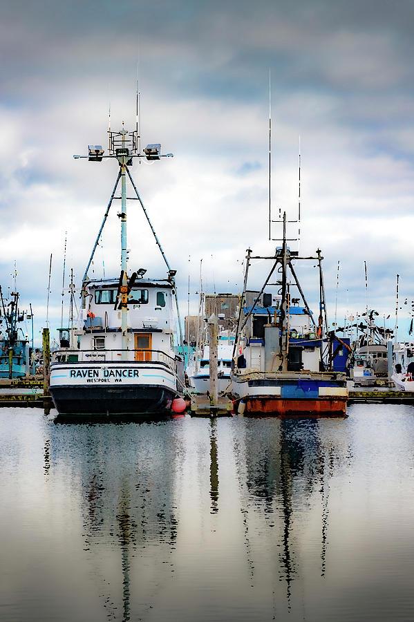 Westport Docks by Larry Waldon