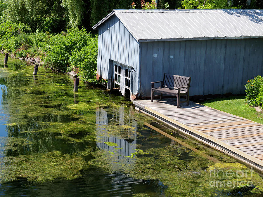Municipal Photograph - Westport Harbour In Southern Ontario by Louise Heusinkveld