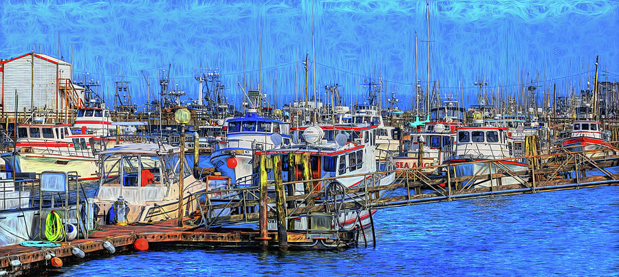 Westport Marina  12 by Mike Penney