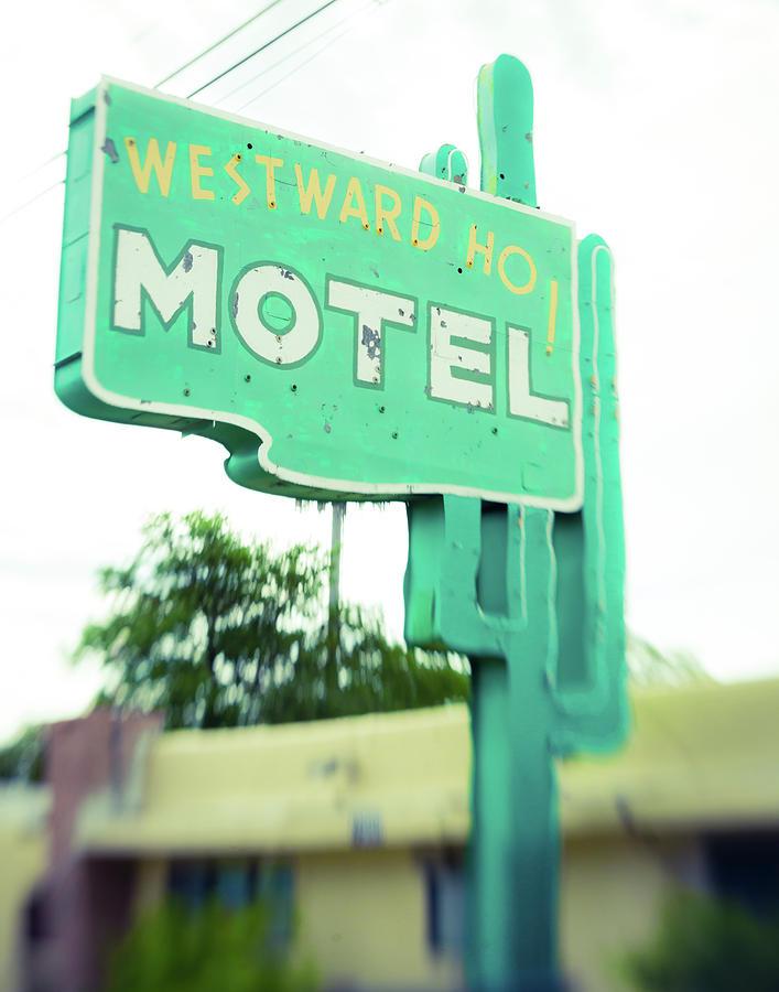 Westward Ho Albuquerque Motel by Sonja Quintero