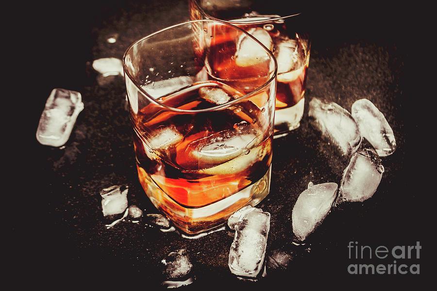 Alcohol Photograph - Wet Bar by Jorgo Photography - Wall Art Gallery