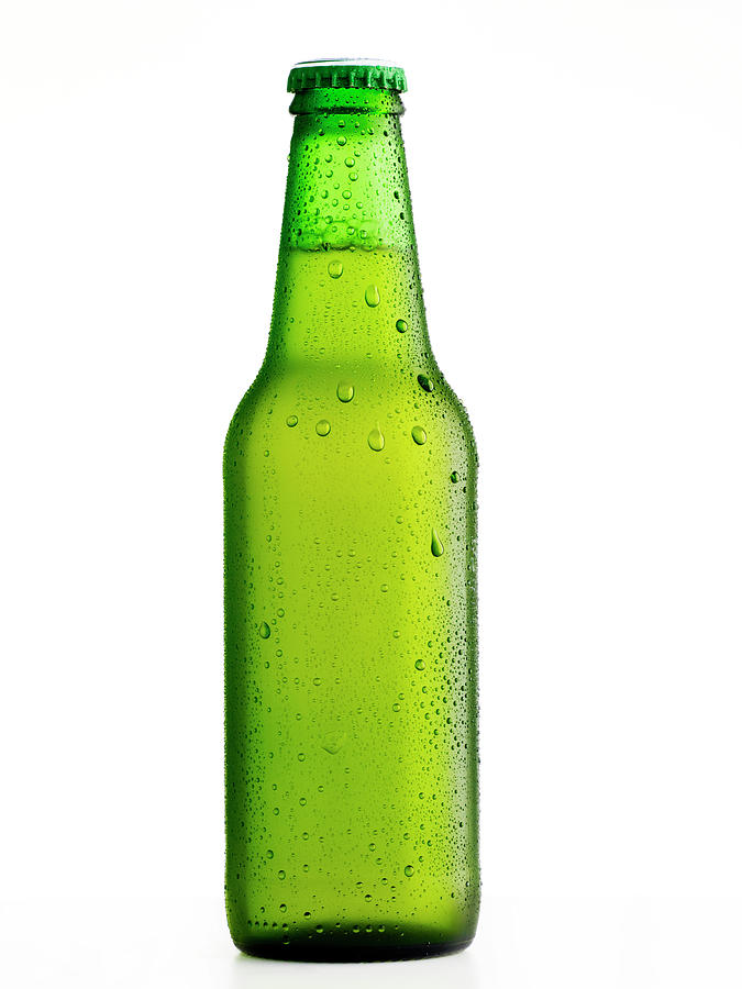 Wet Beer Bottle Photograph by Ultramarinfoto