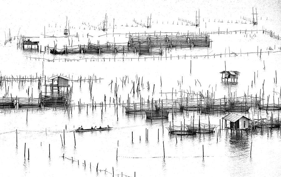 Wetland Village Photograph by Ekkachai Khemkum
