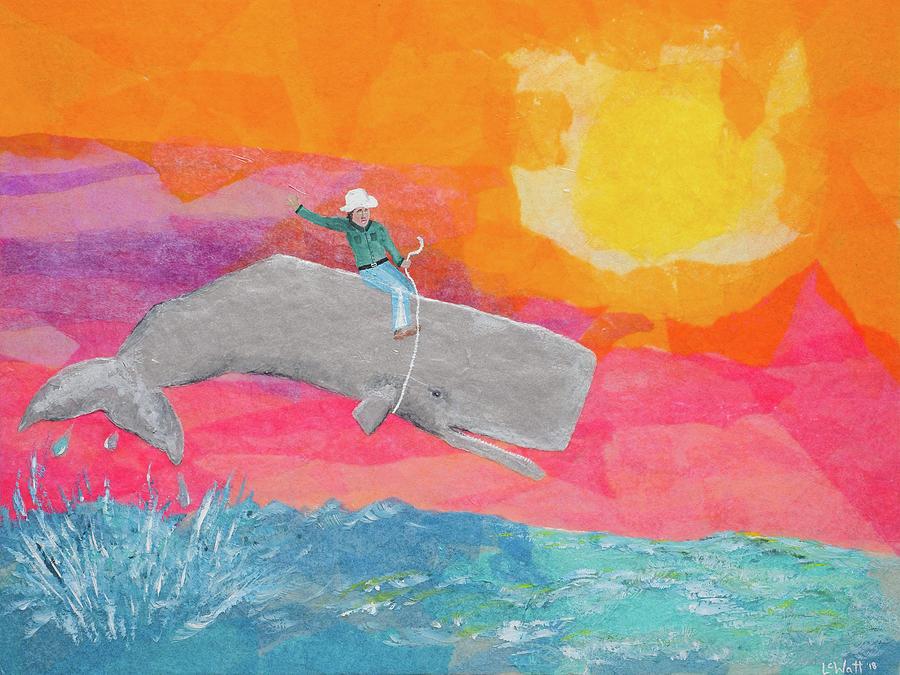 Whale Rodeo by Laelia Watt