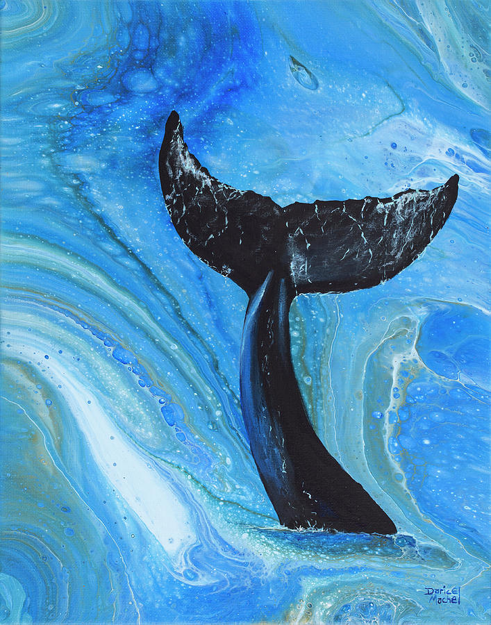 Whale Tail  by Darice Machel McGuire