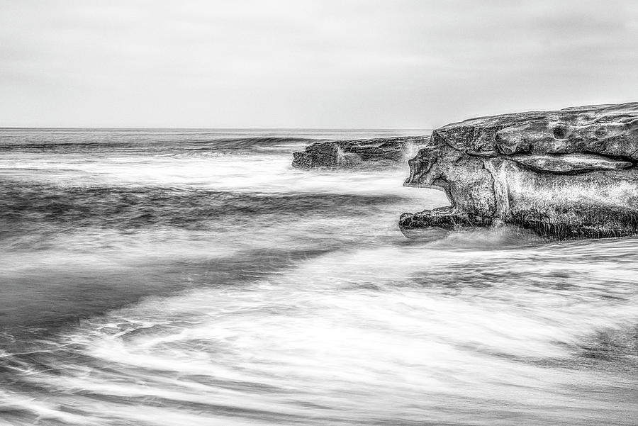 Whale's Mouth In Monochrome by Joseph S Giacalone