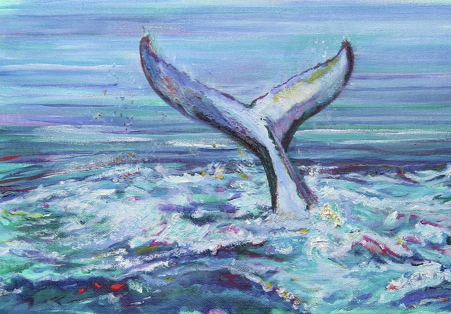 Whales Tail by Karin McCombe Jones