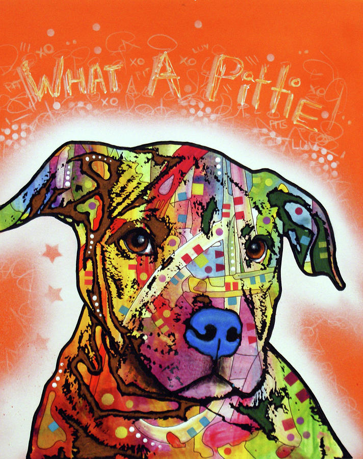 What A Pittie by Dean Russo Art