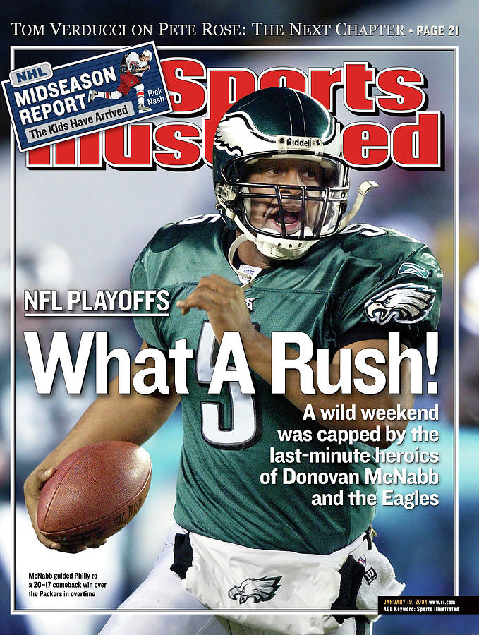 What A Rush Nfl Playoffs Sports Illustrated Cover Photograph by Sports Illustrated