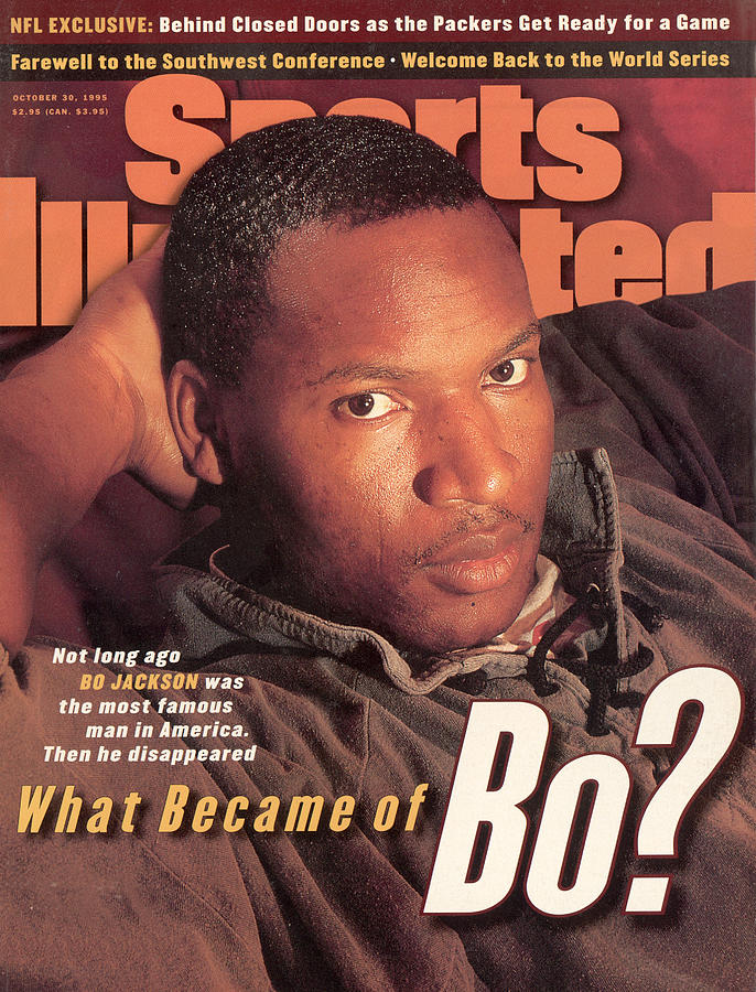 What Became Of Bo Jackson Sports Illustrated Cover Photograph by Sports Illustrated