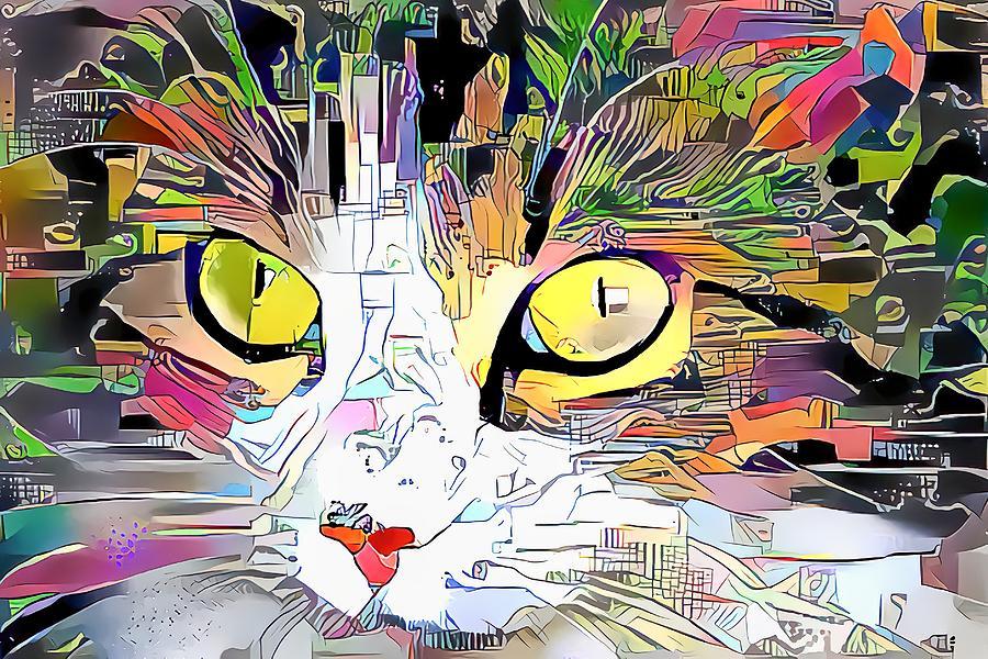 What Big Golden Eyes You Have Digital Art